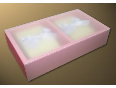 pp슬리브 2p(핑크/무지)