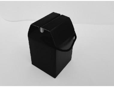 블랙 머그컵1p 다용도박스